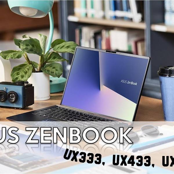 ASUS ZenBook, Laptop premium ultra kecil yang enteng dibawa kemana-mana