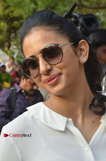 Actress Rakul Preet Singh at Endometriosis Awareness Walk at Apollo Cradle  0016.jpg