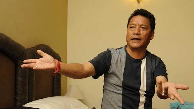 Bimal Gurung Gorkha Janmukti Morcha President