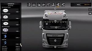 DAF Euro 6 Editing Pack mod
