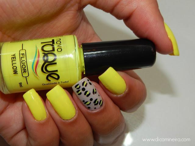 Unhas Feitas: Esmalte Yellow Flúor Novo Toque
