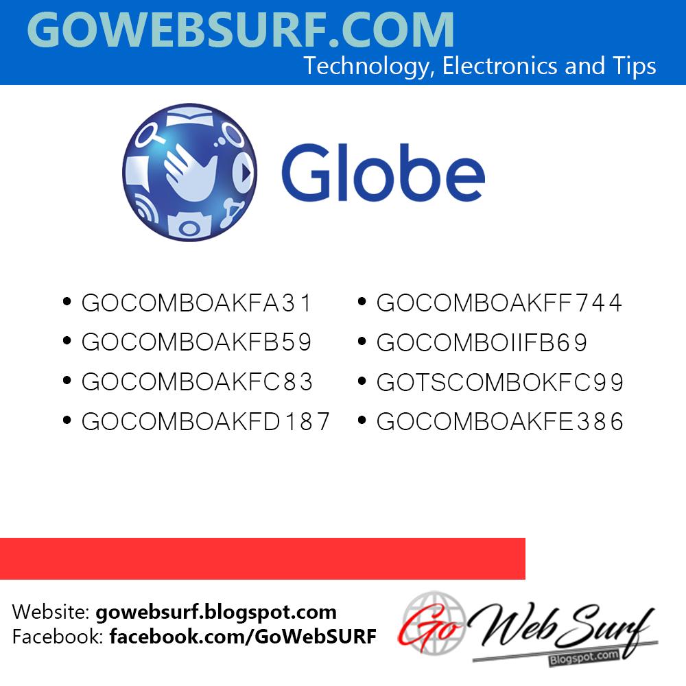 List of Globe GOSAKTO (Unli Data Internet Promos)