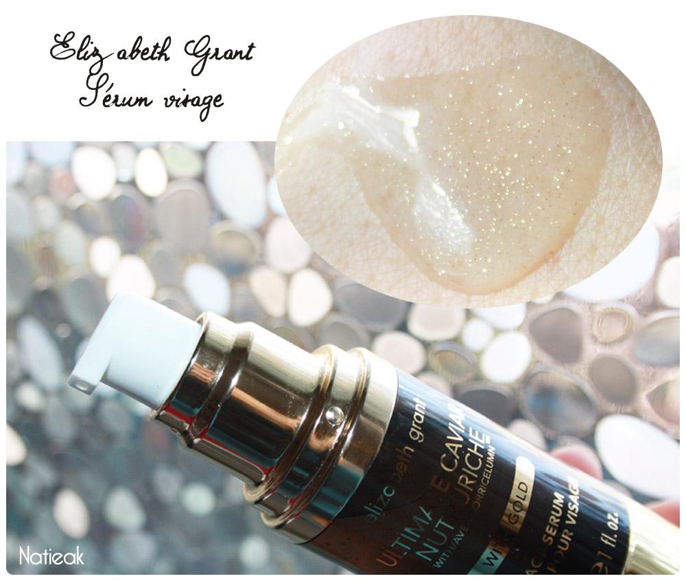 sérum visage Ultimate caviar nutruriche de Elizabeth Grant