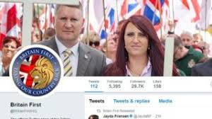 Twitter suspends Britain First leaders Account