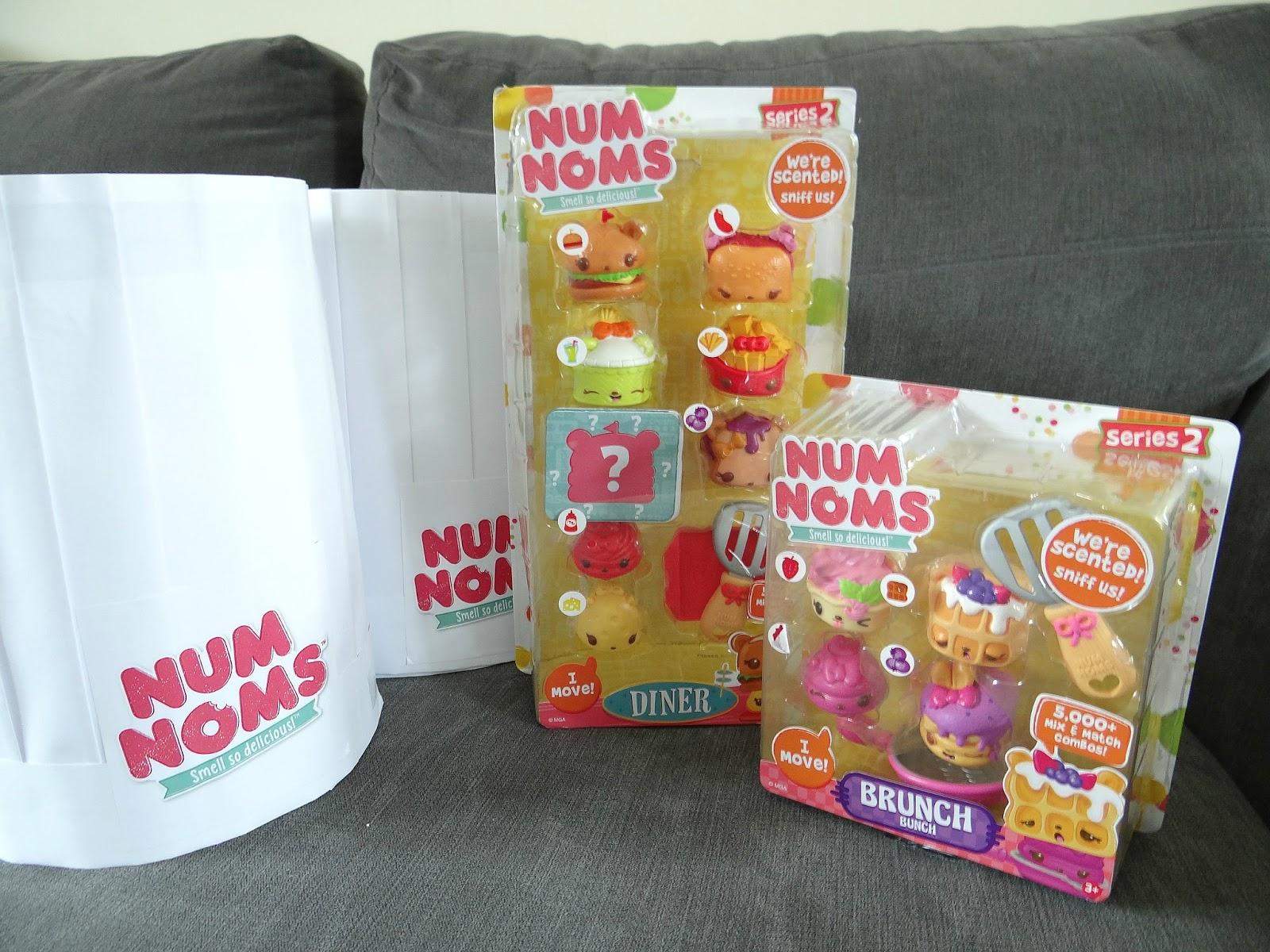 Num Noms Series 2, food toys, recipes