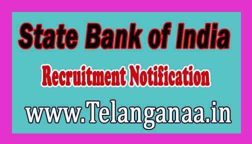 SBI (State Bank of India) Recruitment Notification 2016