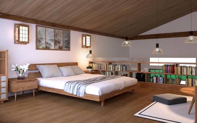 Không gian phòng ngủ Ohara Villas Hòa Bình