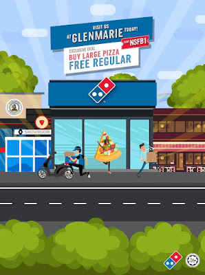 Domino's Pizza Malaysia Code Buy Large Free Regular