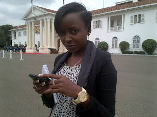 Jacque Maribe flaunts her baby boy and opens her heart after allegations. PHOTO | BANA