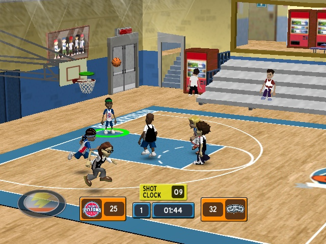 Backyard Basketball DS ROM  isoroms.com