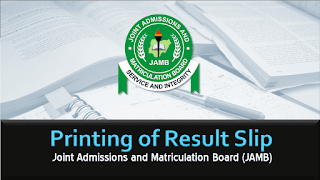 How to Print JAMB Original Result Slip Online [ALL YEARS]