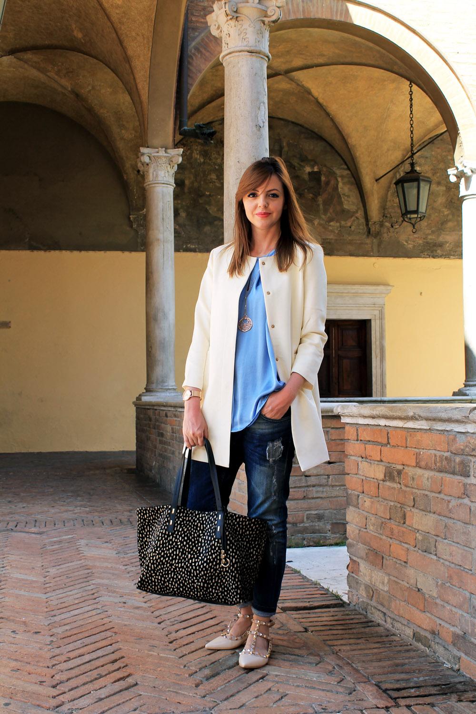 outfit-primaverile-spolverino-panna-Francesca-Focarini