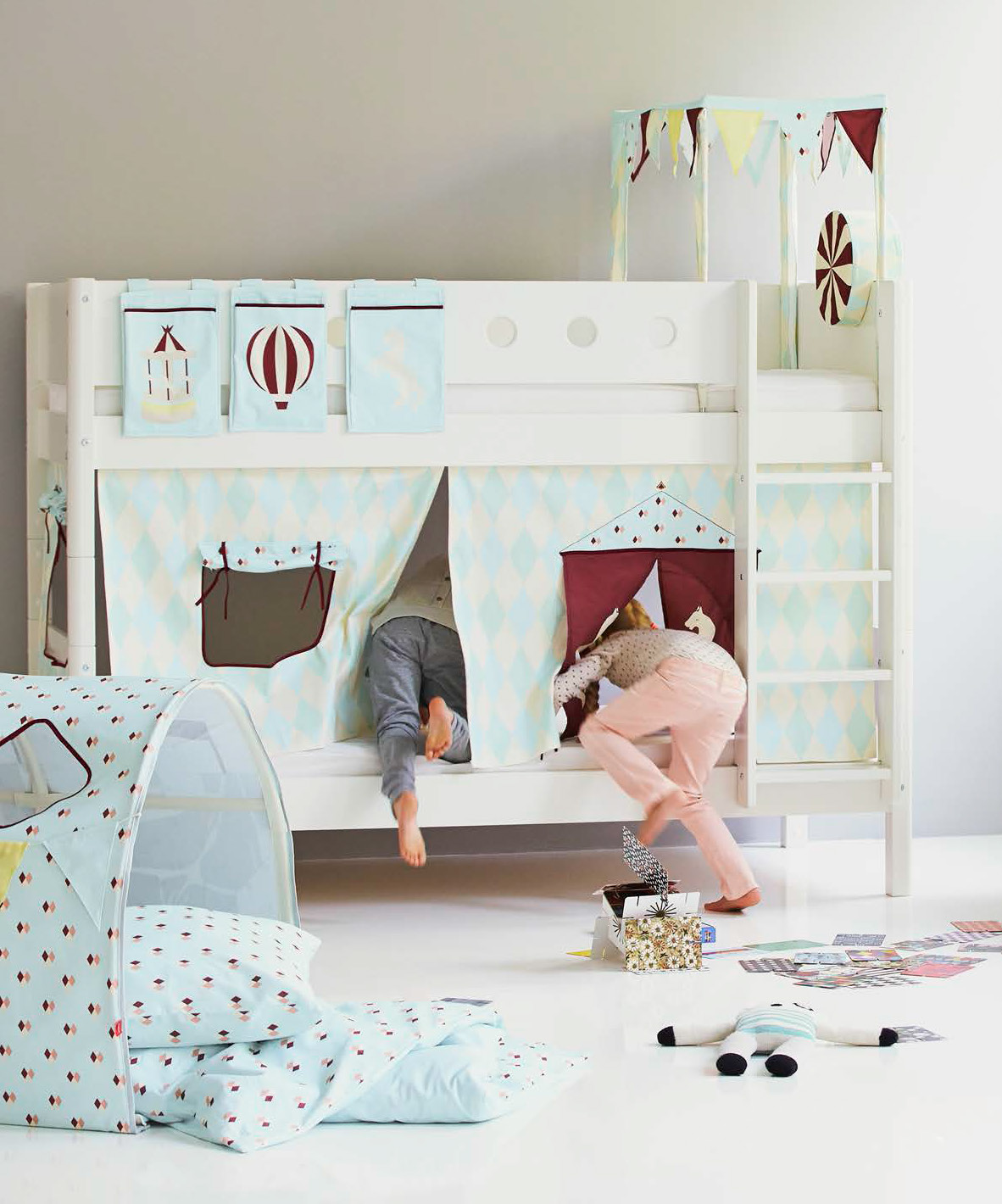 Nice In a few months time Sailor will be ing out of his cot and so I think bunk beds are going to be the ideal solution and thanks to the inbuilt wardrobe