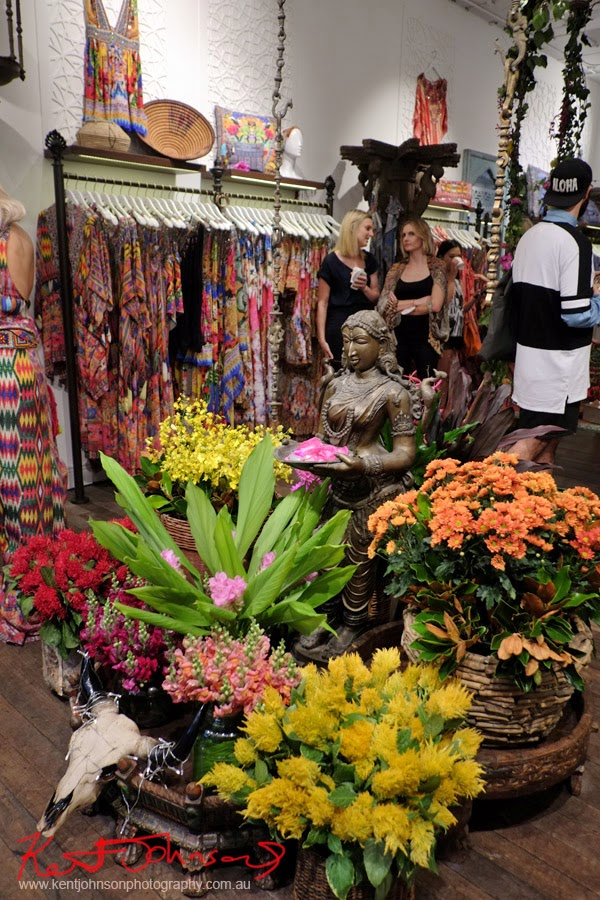Flowers and the Goddess - Camilla Ringleader - Style guide and store launch Paddington Sydney - Photographed by Kent Johnson.