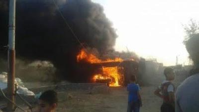 السيطرة علي حريق نشب بـ 7 منازل وحوش بسوهاج