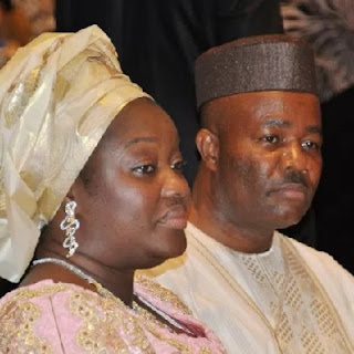 Akpabio and wife