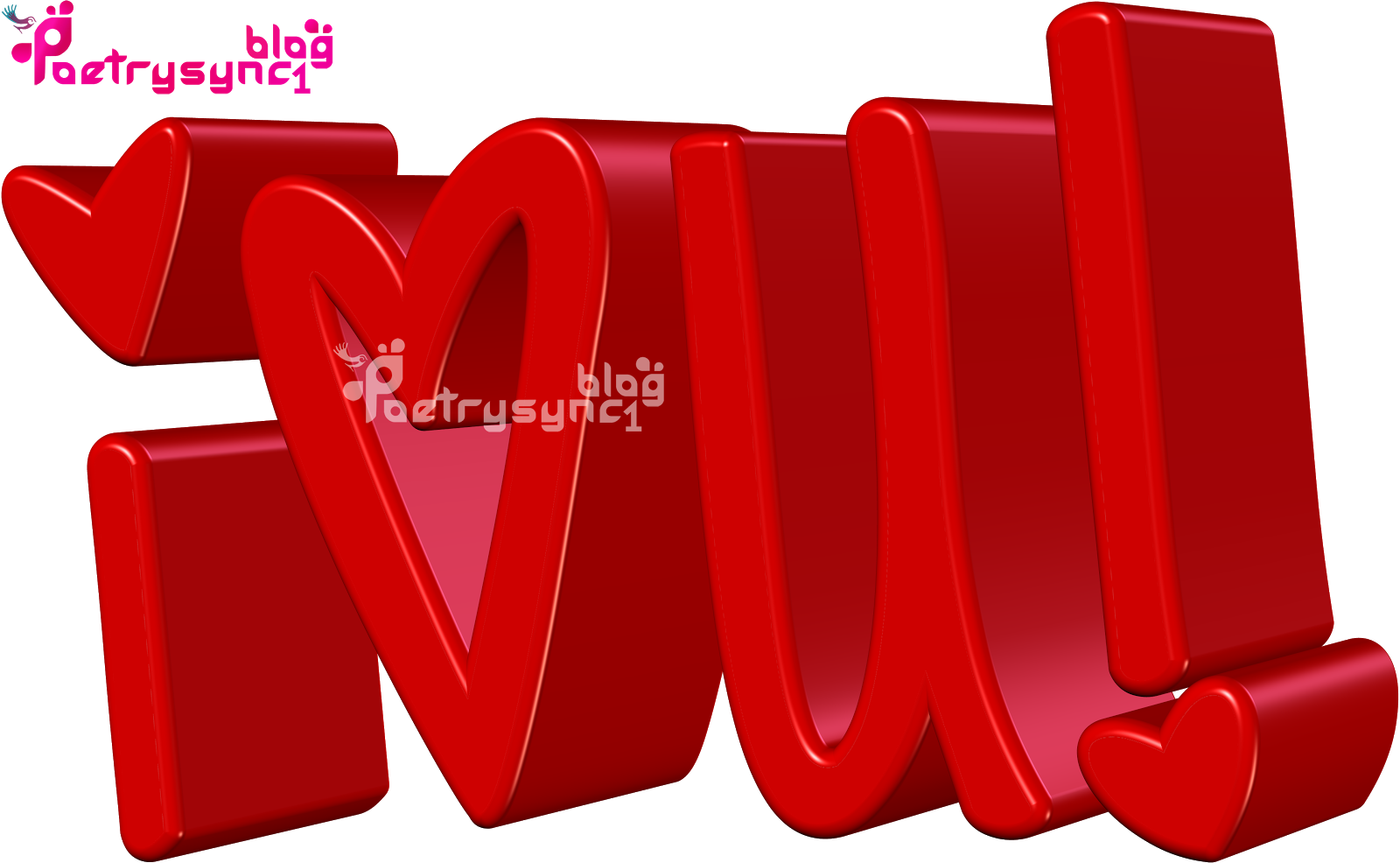 Quotes: Love 3D Red Hearts Images With Messages In