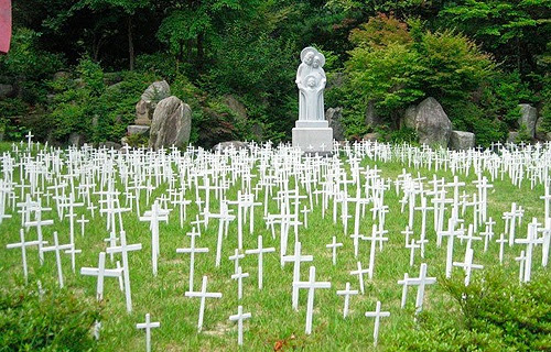 In Korea, Pope Francis to visit cemetery for aborted babies ~ Catholic and Proud