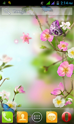 Flower Free Live Wallpaper App for Android