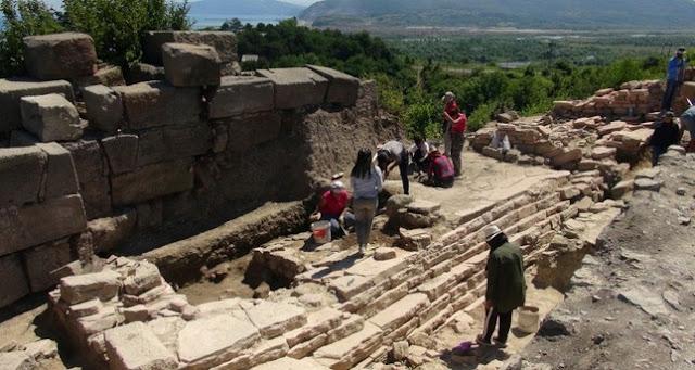 Excavations resume in ancient city of Tieion in Turkey's Black Sea region
