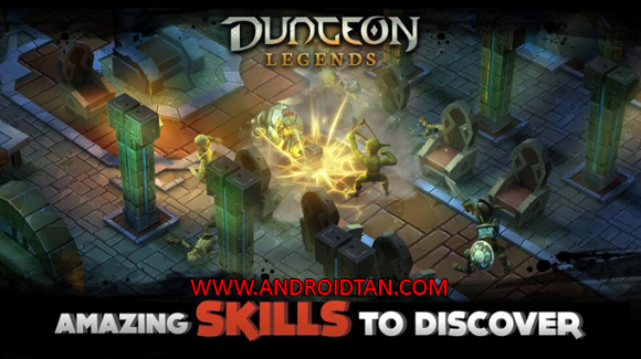 Free Download Dungeon Legends Mod Apk v2.14 Mega Mod Android Terbaru 2017