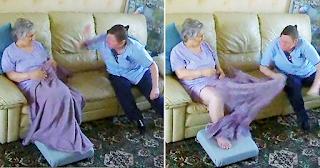 Κόρη βλέπει την μητέρα της από κρυφή κάμερα να την χαστουκίζει γυναίκα που την προσέχει
