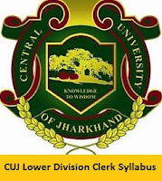 CUJ Lower Division Clerk Syllabus 2017