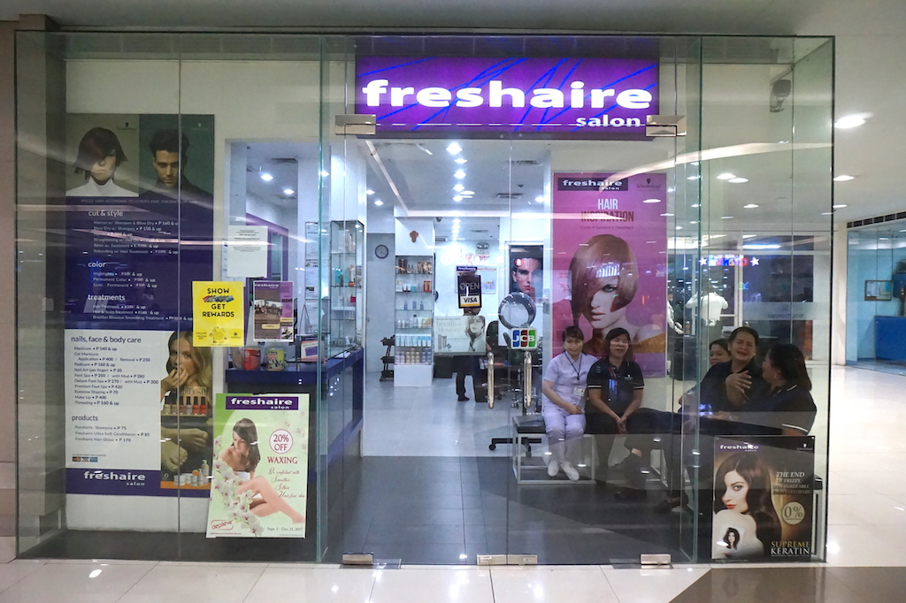 Holiday Hair Makeover At Freshaire Salon Review The Beauty Junkee