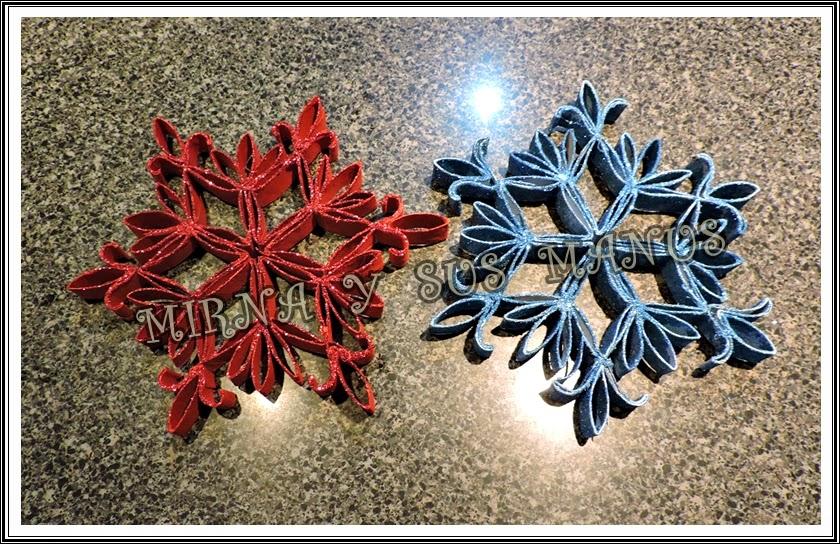 Manualidades mirna y sus manus reciclaje como hacer un - Adornos navidenos con rollos de papel higienico ...