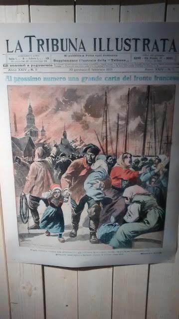 Exposición del gran incendio de 1915 que sufrió Bergen