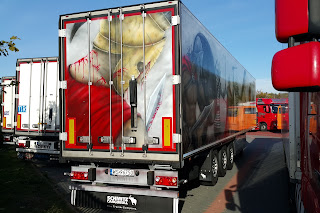Tuning ciężarówki, malowanie tira aerografem, airbrush, aerografia samochodowa.