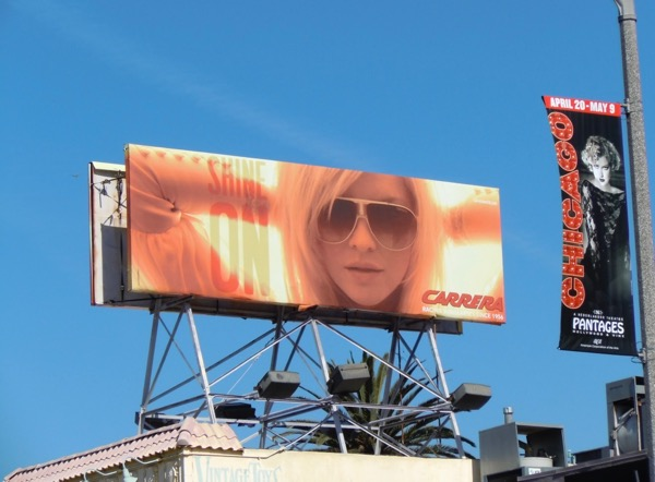 Carrera sunglasses May 2010 billboard