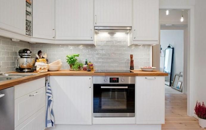 Modele De Cuisine En bois Blanc