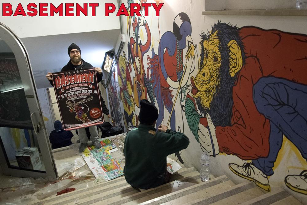 Basement Party Sonny Alabama con manifesto