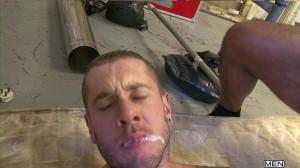 Dupla Penetração Harley Everett, Rogan Richards e Ryan Stokes