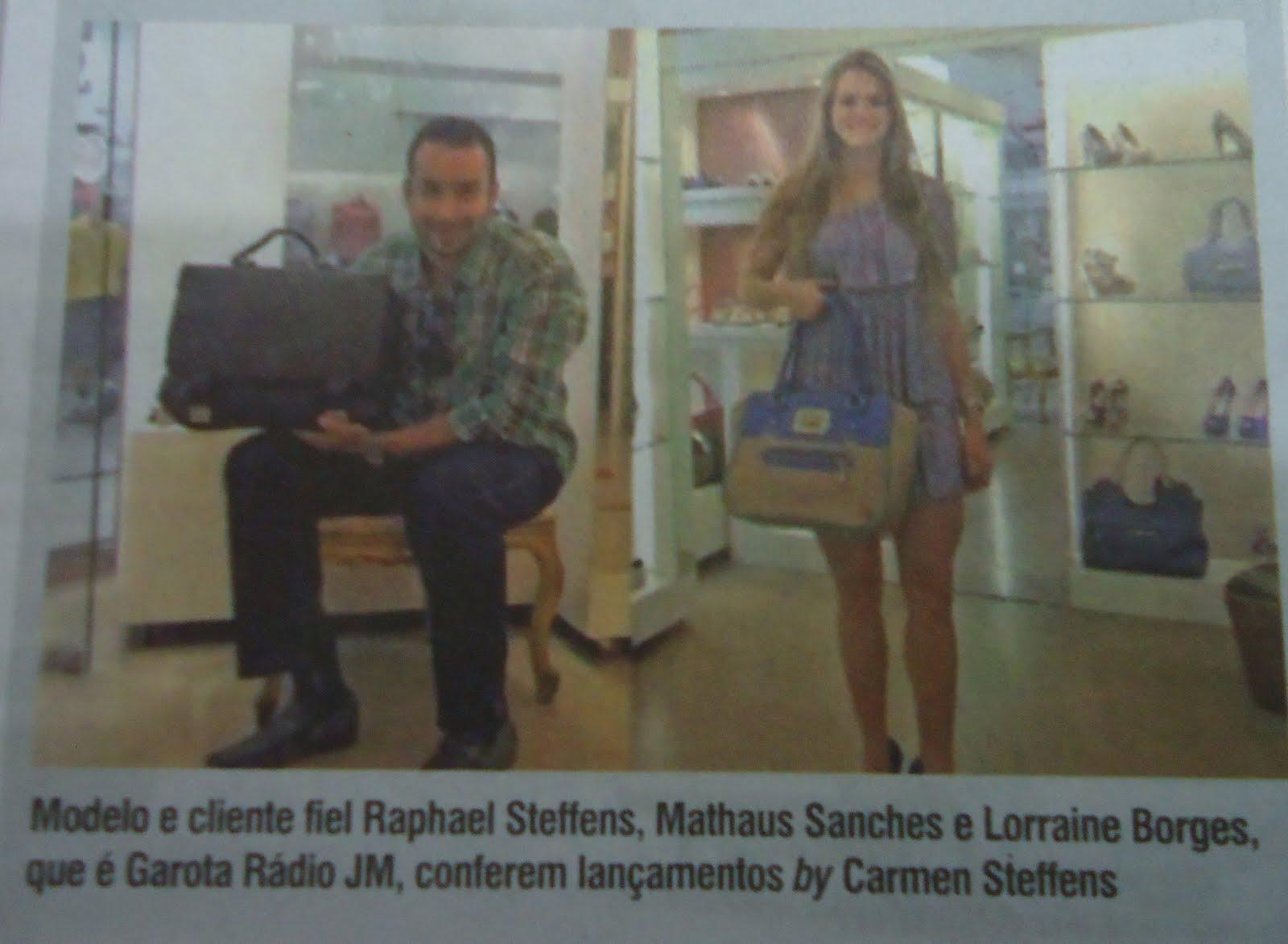 5fd906dfc Bom dia pessoal , como cliente fiel Raphael Steffens recebi um convite  muito especial da nova gerente da loja Carmen Steffens de Uberaba , a  competente GISA ...