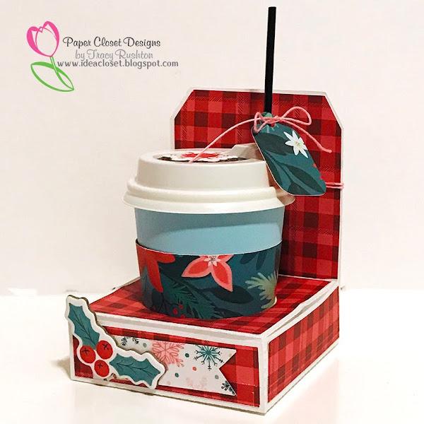 Christmas Mini Cup Totes