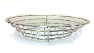 oval basket, metal basket, burger basket, fruit basket, serving basket