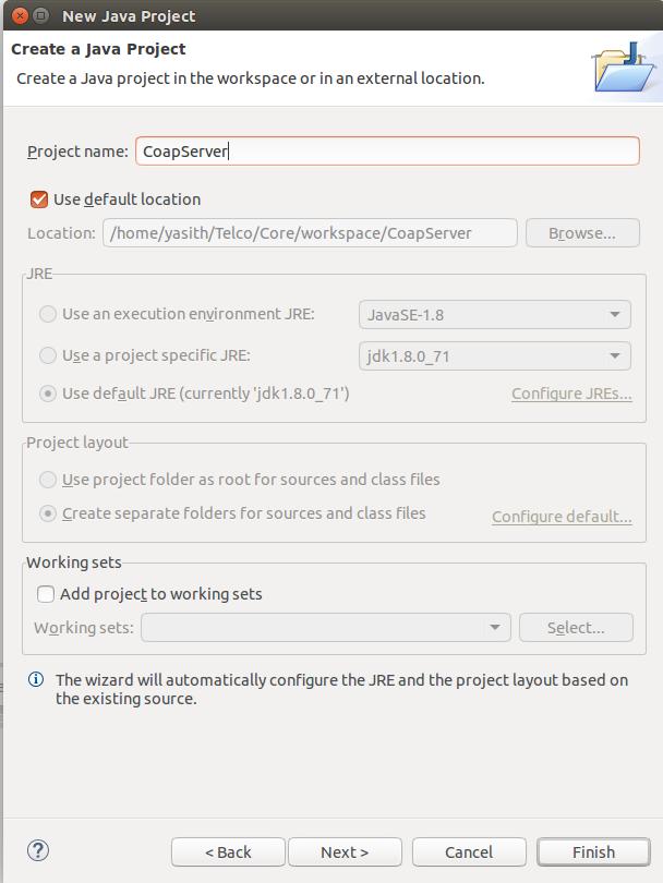 Creating a CoAP Server using Eclipse Californium - Yasith Lokuge