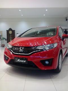 Honda Jazz Warna Merah Pilihan Favorit kamu