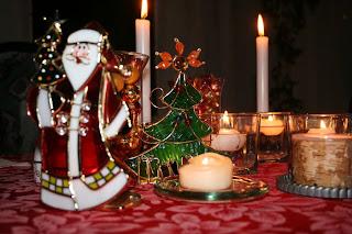 Santa at Christmas time