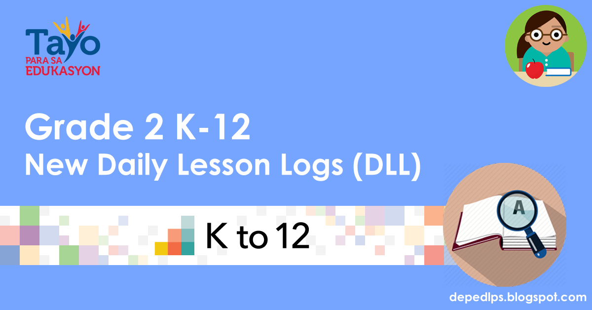 New Grade  Daily Lesson Logs Dll 1st 4th Quarter All Subjects