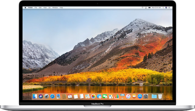 macOS High-Sierra desktop MacBook Pro