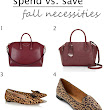 Spend vs. Save: Fall Neccessities