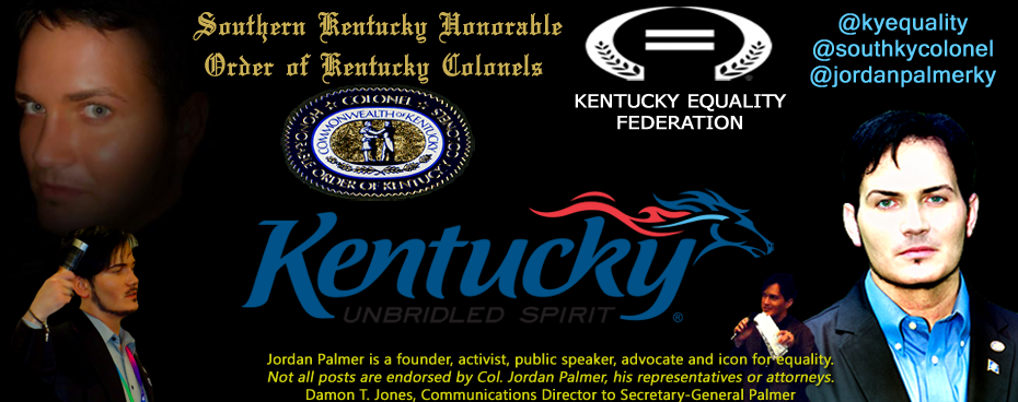 Jordan Palmer for Kentucky - Activist | Public Figure