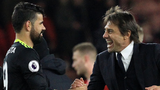 Chelsea striker Diego Costa has launched a scathing attack on Antonio Conte and Chelsea from his home town in Brazil.