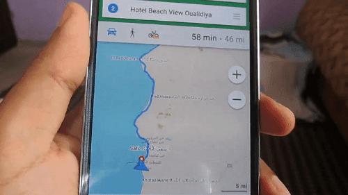 أفضل تطبيق خرائط يعمل بدون أنترنت للأندرويد والآيفون