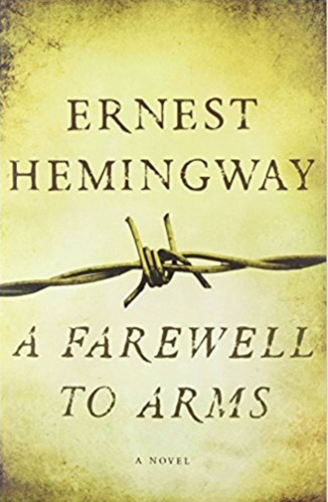 a literary analysis of a farewell to arms by ernest hemingway Nea big read the national endowment for the arts 3 introduction to the book ernest hemingway's third novel, a farewell to arms (1929), was crafted from his.