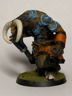 Finished Minotaur side view