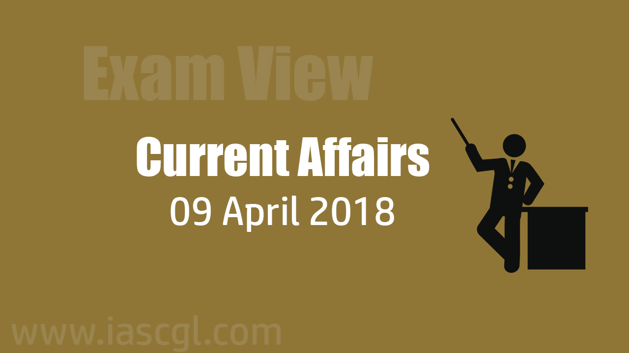 Current Affair 09 April 2018